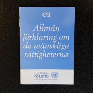 Allmän förklarning om de mänskliga rättigheterna