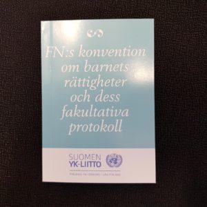 Konventionen om barnens rättigheter och dess fakultativa protokoll