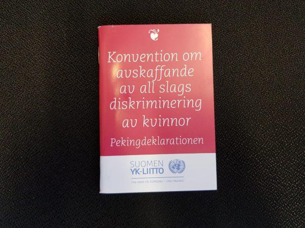 Konvention om avskaffande av all slags diskriminering av kvinnor