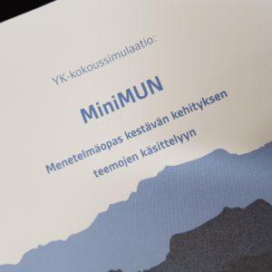 MiniMUN -menetelmäopas