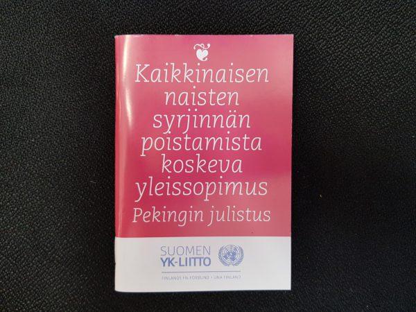 Kaikkinaisen naisten syrjinnän poistamisista koskeva yleissopimus